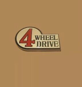 FJ40 New OEM 4 Wheel Drive 4wd 4x4 Emblem Landcruiser
