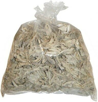 Loose California White Sage Smudge Leaves & Clusters 8 oz, 1/2 Pound Cleansing