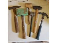 Hammer and mallet set