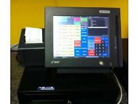 Touchscreen EPOS System Printer Till Dr Cash Register Fast Food Retail Coffee Chip Shop Dry Cleaning