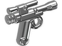 SIDAN Black MK23t Pistol Weapons for Brick Minifigures