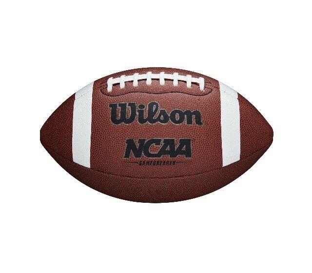 **NEW** Wilson NCAA GameBreaker Series Official Size Football