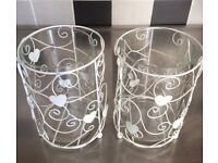 BNWOT Candle Holders x2 - Ideal for Wedding!