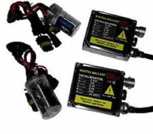 HID 9006 Two bulbs two ballasts. Used. 5000K. Purchased fo