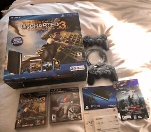 Sony PS3 Game of the Year Edition Drakes Deception 250GB