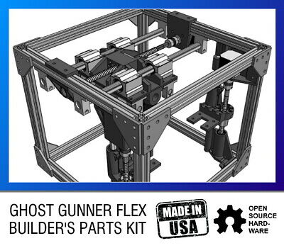 Ghost Gunner Flex Builders Kit - Open Source Diy Cnc Milling Machine