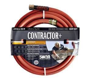 "Contractors 3/4"" x 50 Ft Water Hose"