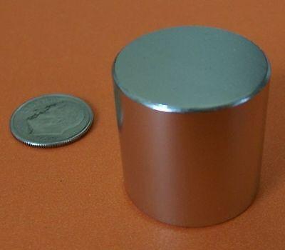 2 Powerful Grade N50 1x1 Inch Rare Earth Neodymium Cylinder Magnets