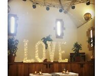 4' Wedding LOVE Letters with LED Lights