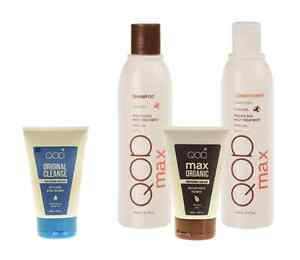 QOD MAX Organiq Brazilian Keratin Straightening Treatment  Formaldehydfrei 4-Kit