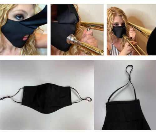 Instrument Face Mask - Trumpet - Saxophone - Clarinet - All Brass and Woodwind