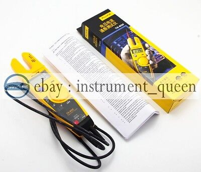 Fluke T5-600 Clamp Continuity Current Electrical Tester Brand New