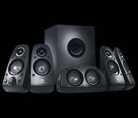 LOGITECH Z506 5.1 PC Speakers, fully works