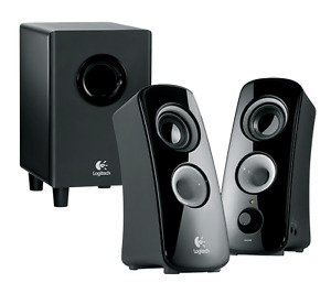 Logitech speaker system with subwoofer Model 2323