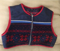 Vest from a 2-3T coat.