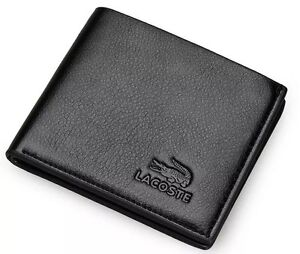 Armani and Lacoste Genuine Leather Wallet ***** Brand New *****