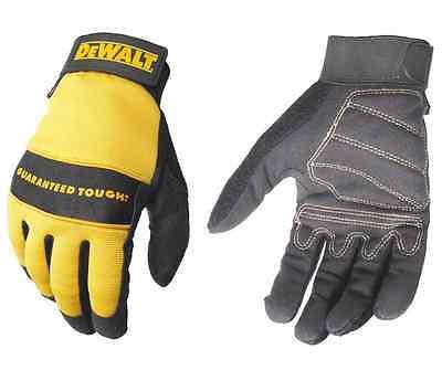 DeWalt DPG-20 DPG20 Synthetic Leather Work Gloves MED