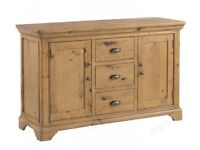 Ex display large oak sideboard