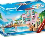 PLAYMOBIL Family Fun: ijssalon aan de haven (70279)