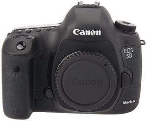 canon 5d mark iii, barely used