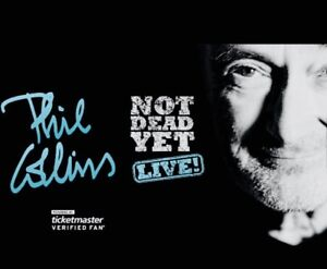Phil Collins Toronto Oct.11  *sold out show*