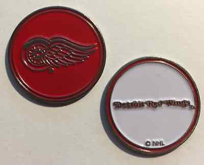 New NHL Detroit Red Wings Golf Ball Marker