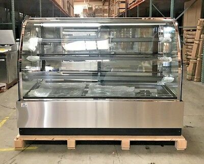New 72 Bakery Deli Refrigerator Model Cl-6f Led Cooler Case Display Fridge Nsf