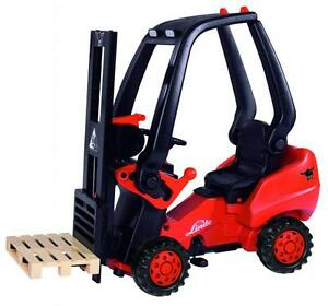BIG-Linde-Pedal-Forklift-Truck-Ride-On-Tractor