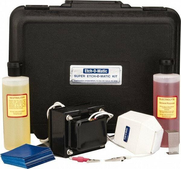 Etch-O-Matic Electric Etcher 10 Amp Kit, Includes 1 - 15-Volt, 10-Amp. Marker...