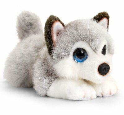 Keel Toys HUSKY DOG 25cm Soft Toy SIGNATURE PUPPY