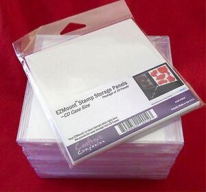 Stamp storage panel CD Storage Panels - Package of 10 from Crafter's Companion