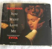 Madonna - You Must Love Me (Evita) CD Single 1996 JG1 Eastern Creek Blacktown Area Preview
