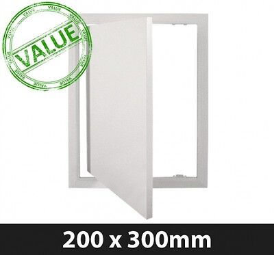 Value Access Panel - 200 x 300mm Plastic Hinged