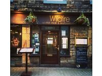 Part time staff required for a busy city centre bistro