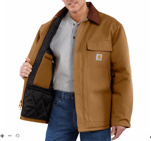 Carhartt Winter Jacket Size Large (Tall)