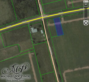 Darnley PEI Building Lot for Sale with Paved RD, Cottage Views