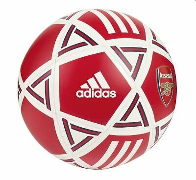 adidas Capitano 2019 - 2020  Soccer Ball Arsenal FC Edition White Red  Size 4