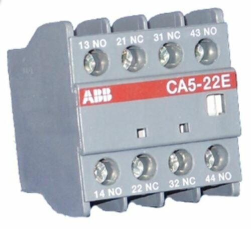 CA5-22E, Abb, 2NO-2NC Aux Contact Block, Front Mount, Fits A9-A110 Contactor