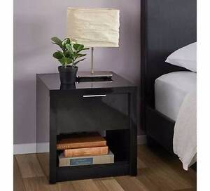 NEW ALTO 1 DRAWER BEDSIDE TABLE . Fairfield Fairfield Area Preview