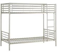 Single Bunk Bed, SILVER Brand New Still In Box Plumpton Blacktown Area Preview