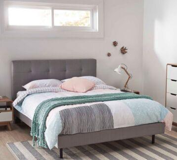 Modena queen bed and mattress