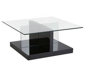 【On SALE】【Brand New】Quadro Tempered Glass Coffee Table Nunawading Whitehorse Area Preview