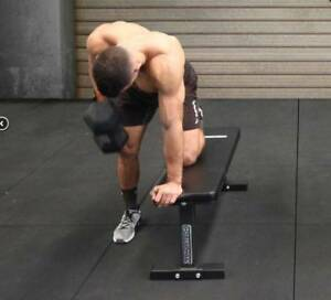 Armortech V2  Flat Bench Dumbbell Workouts