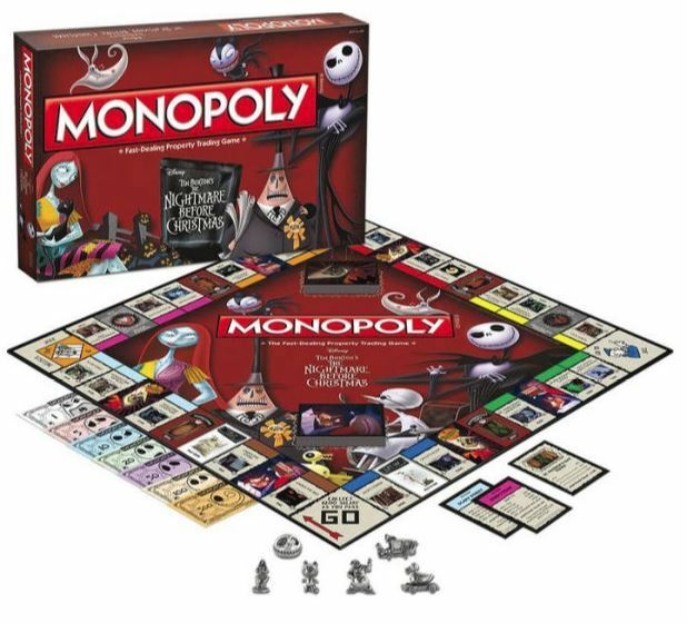 USAopoly MONOPOLY® Call Of Duty, IT, Guardians of The Galaxy, Warhammer  ... TimBurtonsNightmareBeforeChristmas