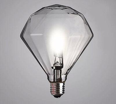 HOT Large E27 G9 halogen lamp Diamond Vintage Edison Light bulb special rare