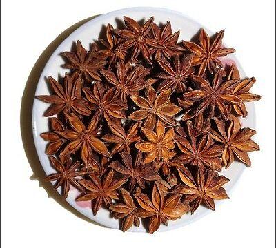 Star Anise Whole Select Grade Organic Free Shipping seasoning in china(50g)