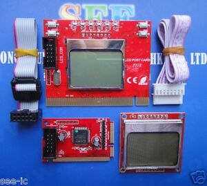 Diagnostic-Post-Test-Card-For-Laptop-PCI-Mini-PCI-LPC-with-Double-Screen