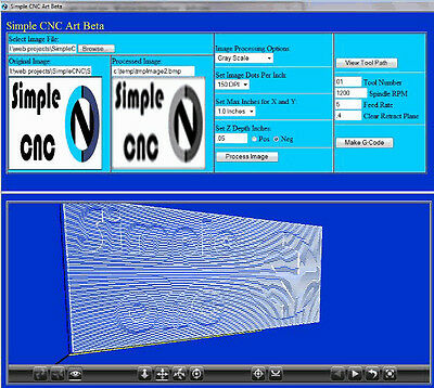 Simple Art 3 Axis Cnc Machine Programming Software