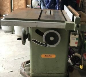 "Busy Bee table saw Cast iron top 10"" 120/220V"