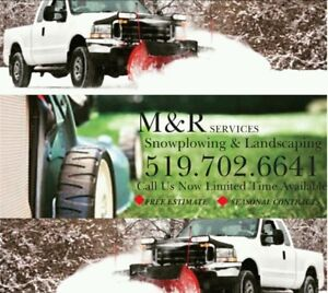 M&R Snowplowing and Landscaping